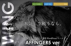 AFFINGER(アフィンガー)豪華7大特典付きレビュー